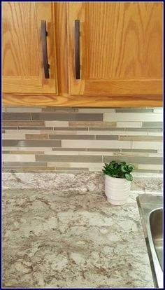 MamaEatsClean: A Honey Oak Kitchen With White Appliances   A 4 Day $1,000  Transformation