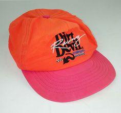 d448f4110e11f Dirt Devil Racing Baseball Hat Orange Pink Snapback Nylon Adjustable One  Size  Unbranded  BaseballCap