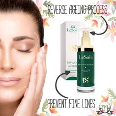 There are many factors that can cause #wrinkles and leave you with #finelines. Some of them you can exclude and some of them you just can't. Revivor De Soie #Serum helps you reverse ageing process. Remember to use it on daily basis. #GreenTea #skincare #beautycare