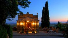 Relais Il Falconiere in Cortona, Tuscany, Italy - Hotel Travel Deals | Luxury Link