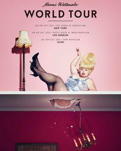 この度ワールドツアーをします。