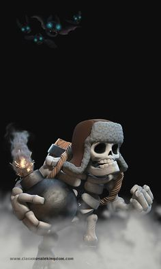 Father of skeletons, he like hug n come to him n boom Clash Of Clans Troops, Coc Clash Of Clans, Clash Of Clans Cheat, Clash Of Clans Game, Royal Wallpaper, Giant Skeleton, Casual Art, Dope Wallpapers, Gaming Wallpapers