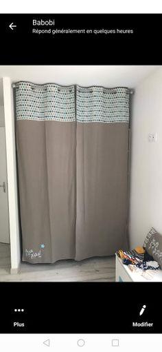 K-Home Klemmfix Mini Store occultant 50 x 150 cm Tissu Beige