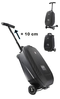 Micro Luggage Reloaded - suitcase with scooter. Waste no time in the airport