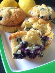 Lemon Blueberry Muffins, soooooo moist and delicious