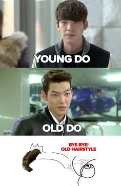 Heirs - So happy for the Young Do...lol