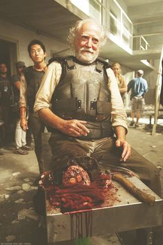 Hershel, The Walking Dead ...behind the scenes