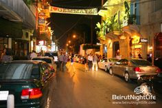 Gemmayzeh Beirut, Lebanon