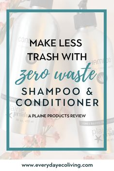 Are you in the market for a non-toxic, zero waste shampoo and conditioner? Plaine Products is revolutionizing the way that bathroom products are packaged. Green Living Tips, Natural Parenting, Natural Cleaners, Eco Friendly House, Clean Beauty, Diy Beauty, Zero Waste, Reduce Waste, Shampoo And Conditioner