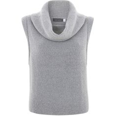 b58d094f2c Mint Velvet Cropped Tabard , Silver Grey (6.665 HUF) ❤ liked on Polyvore  featuring