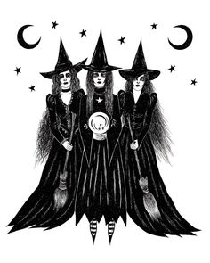 """1,730 Beğenme, 20 Yorum - Instagram'da Mila Rosha (@luna_doom): """"It's the season  Ready to draw witches all year round but it's a special feeling now cause…"""""""