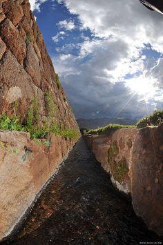 Peru - Tipon - El Valle Sagrado de Los Incas