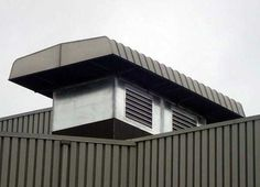 Custom Designed Roof Exhaust System with Integral Silencers - dB Noise Reduction
