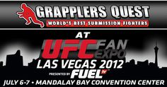 Grapplers Quest at UFC Fan Expo at Mandalay Bay Convention Center in Las Vegas, Nevada Ufc, Las Vegas, Mandalay, Brazilian Jiu Jitsu, Convention Centre, Submissive, Nevada