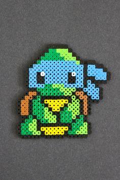 Teenage Mutant Ninja Turtle Perler Bead Sprites by kelseyrushing