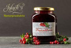 Hausgemachte Ötztaler Preiselbeer- Marmelade Food, Schnapps, Marmalade, Lemon, Spreads, Home Made, Food Recipes, Meal, Essen