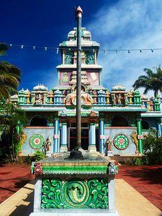 Temple Tamoul - Reunion Island