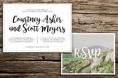 Palm Springs Wedding Invitation Suite // Modern Boho Wedding Invitations Palm Springs Coachella Riverside Palm Desert Cards by factorymade on Etsy https://www.etsy.com/listing/259161093/palm-springs-wedding-invitation-suite