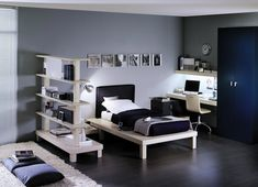 20 Best Cool & Trendy Teenager Boys bedroom designs ideas, cool for girls too.