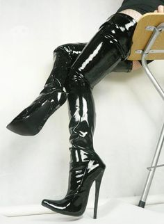 free shipping, $99.5/pair:buy wholesale  new arrival pu sexy fetish pointed toe stiletto longboots 18cm extreme high heels plus size over the knee thigh high boots bdsm crotch boots pu,rubber,over-the-knee on skyshoes's Store from DHgate.com, get worldwide delivery and buyer protection service.