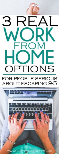 work from home jobs aren't ALL scams - and blogging is NOT the only options! Make money from home.