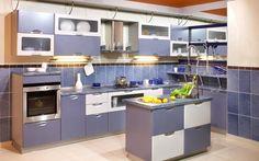 kitchen decorating ideas purple decor