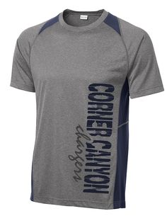 47a845ce4397 Corner Canyon Chargers Football - Performance Color Block Wicking T-Shirt