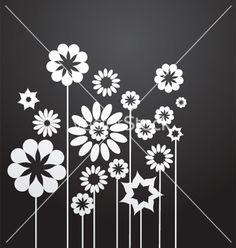 Floral graphic design vector art - Download Ornament vectors - 147055