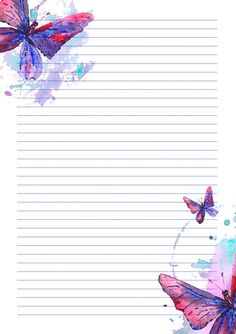 Printable Lined Paper, Free Printable Stationery, Writing Paper, Letter Writing, Paper Background, Background Patterns, Graduation Album, Office Items, Stationery Paper