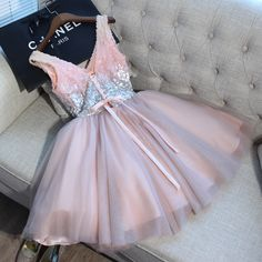 Tulle Homecoming Dress Sexy A-line Short Prom Dress Party Dress Cute Prom Dresses, Sweet 16 Dresses, Elegant Dresses, Homecoming Dresses, Sexy Dresses, Short Dresses, Elegant Gown, Pink Cocktail Dress, Party Gowns
