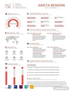 Free Professional Civil Engineer Resume Template ---CLICK IMAGE FOR MORE--- resume how to write a resume resume tips resume examples for student Hr Resume, Student Resume, Resume Tips, Resume Writing, Resume Format, Resume Summary, Sample Resume, Resume Design Template, Cv Template