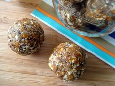 Apricot date energy balls