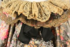 Cape Date: 1895–1900 Culture: French (probably) Medium: silk, cotton, metallic thread. Detail
