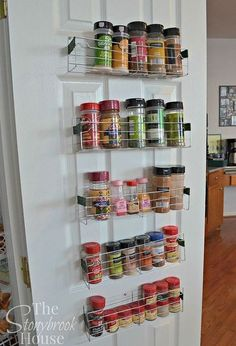 Merveilleux Diy 1 Spice Racks, Closet, Organizing, Repurposing Upcycling, Shelving  Ideas, Storage