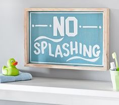 No Splashing Art
