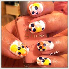 Failed straw nails   chichicho~ nail art addicts