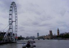 rainy day- London Eye