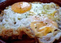 Cómo hacer un huevo frito casero
