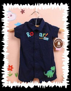 Dinosuar romper size 3-6months. NOW JUST $6 Rompers, Children, Boys, Clothes, Dresses, Fashion, Young Children, Baby Boys, Outfits