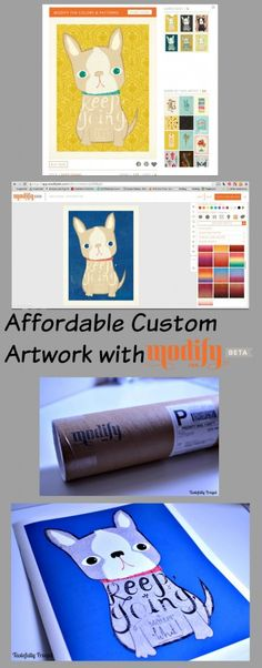 Affordable Custom Artwork with Modify Ink plus exclusive 30% off coupon code!
