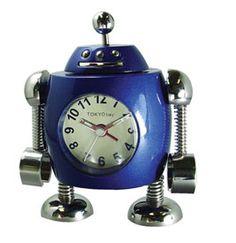 Rivet Robot Alarm Clock, $49.95