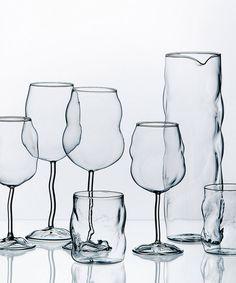 modern avantgarde design wine glasses dotandbo.com