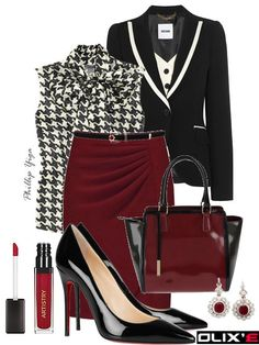 professional pencil skirt outfits | What to Wear To an Interview - Top Outfits for a Job Interview | Olixe