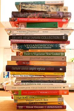 Veggie love... I've been a vegetarian for over 12 years. #vegetarian #books