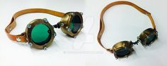 blowed up goggle by yzorg on DeviantArt Turquoise Bracelet, 3d Printing, Deviantart, Bracelets, Prints, Jewelry, Impression 3d, Bangle Bracelets, Jewellery Making