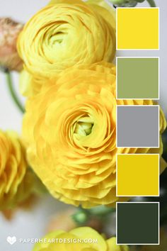 Color Palette: Ultimate Gray + Illuminating 2021 Pantone Colors of the Year — Paper Heart Design