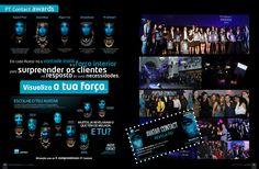 PT Contact Awards 2013: Campanha digital e evento de consagração (cobertura fotográfica e vídeo)