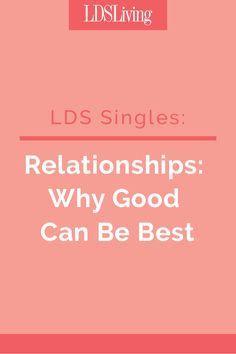 Best Lds Talks On Dating