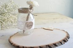 Personalized Rustic Guest Book by Burlap and by BurlapandLinenCo, $45.00