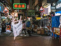 Bailarinas tomam as ruas de Hong Kong em ensaio surpreendente | Virgula